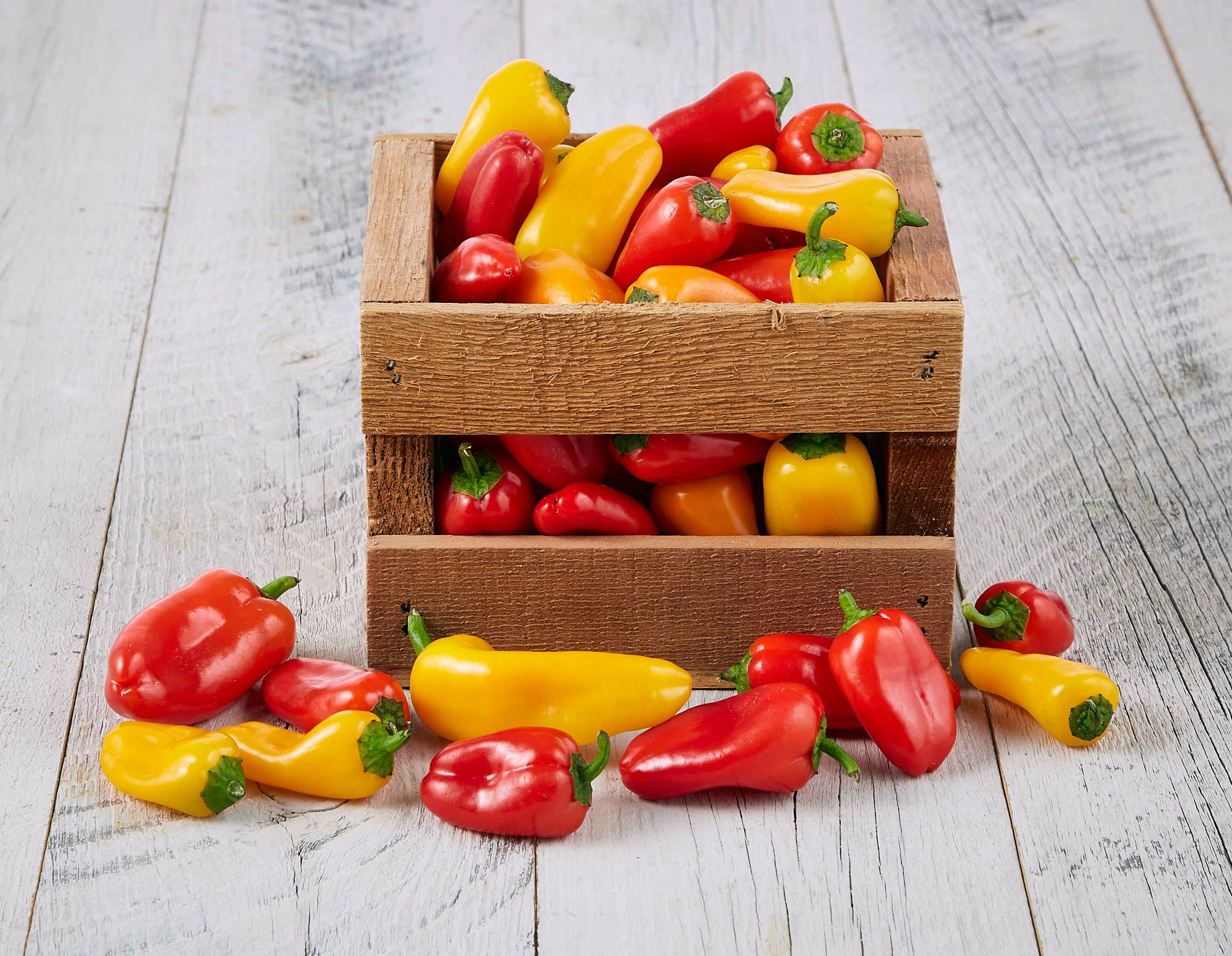 Crate of Peppers