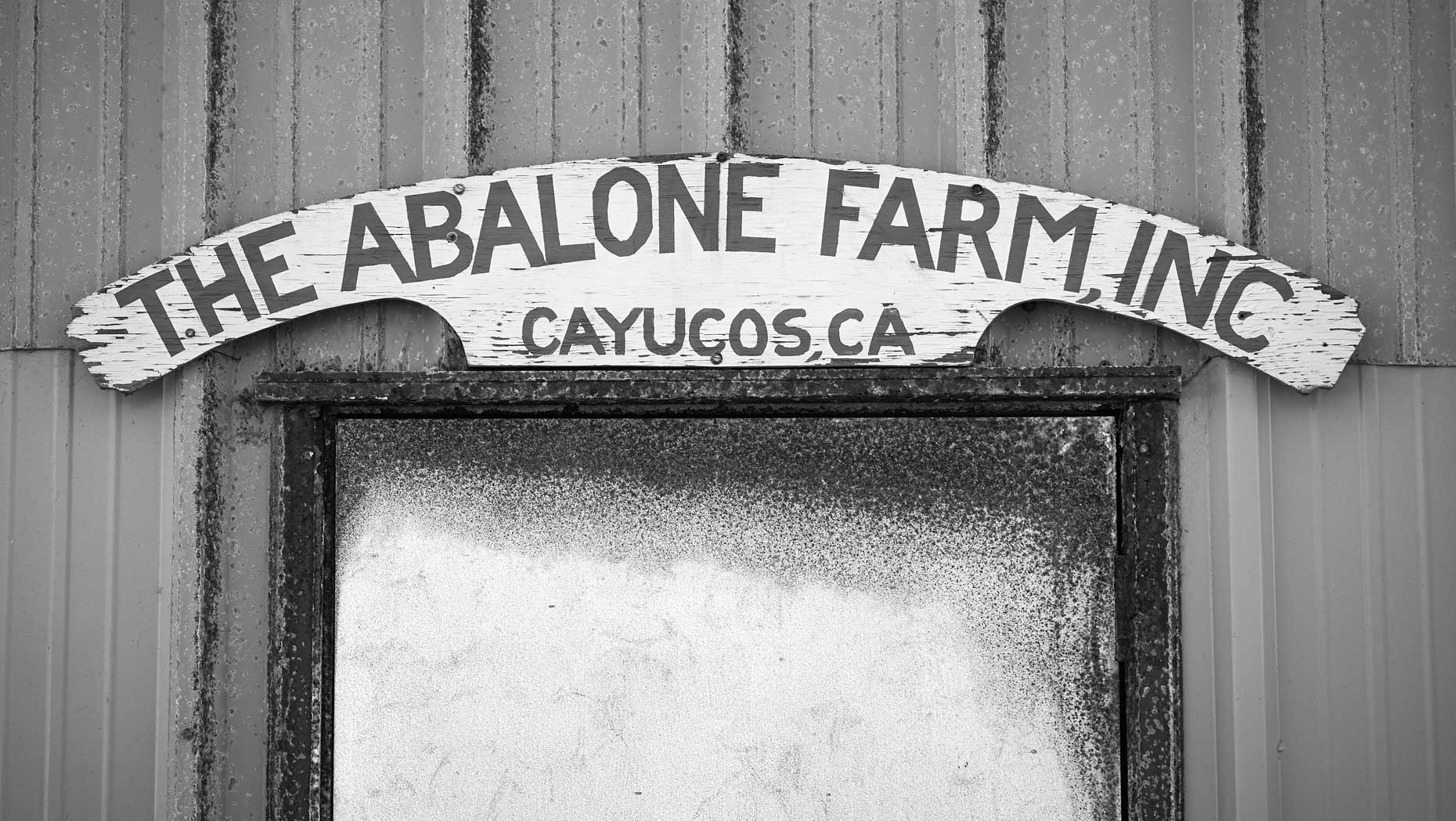 Abalone Farm Sign
