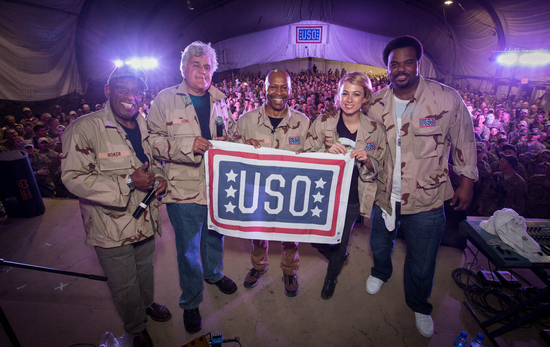 USO Today Show Comedy Tour to Afghanistan