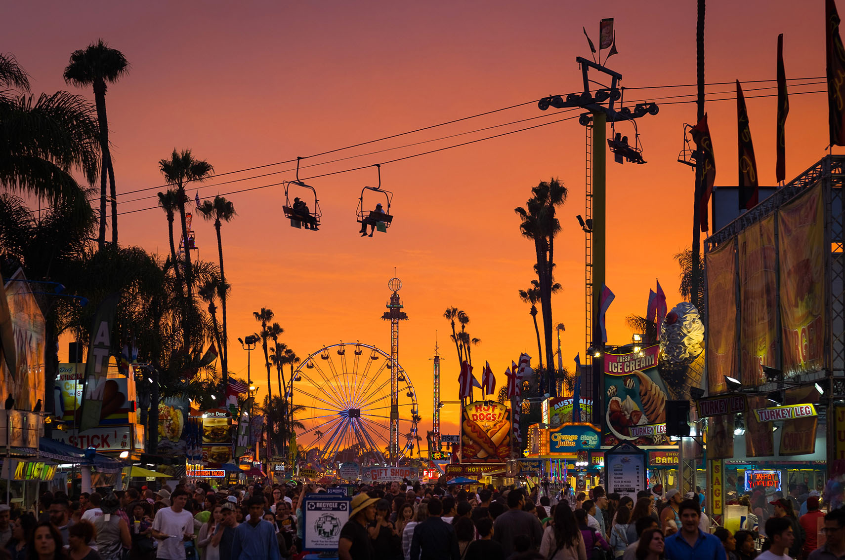 SD Fair Sunset