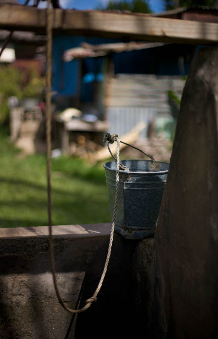 Bucket on a Well in Fiji