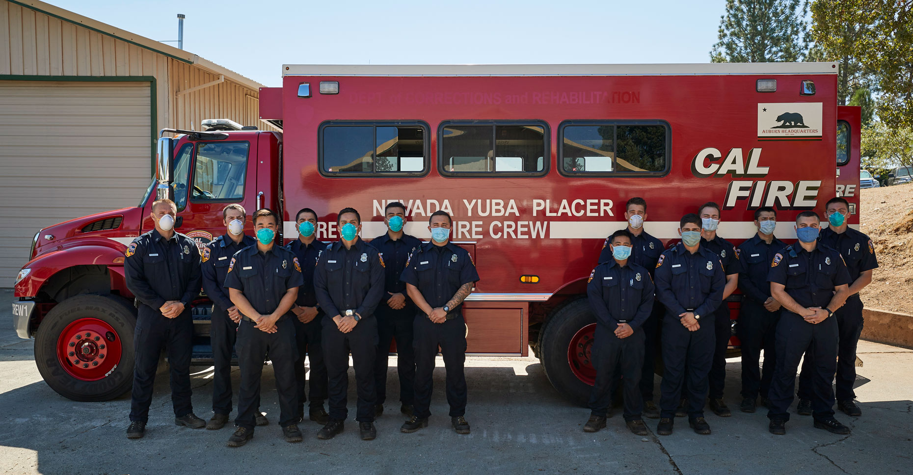 Cal Fire NEU Crew 1 by Their Crew Bus