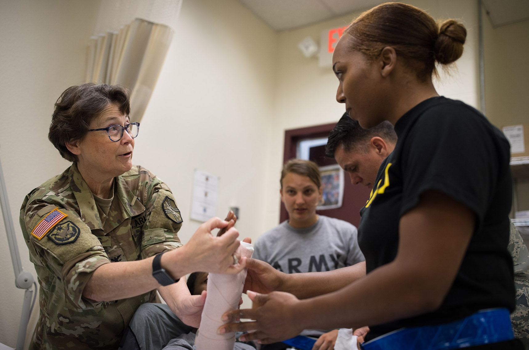 Military Service Physician Assistant Col Pauline Gross