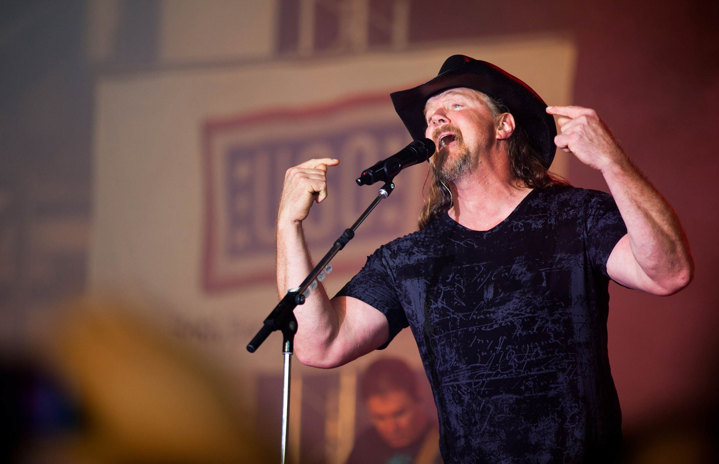Country Star Trace Adkins in Germany