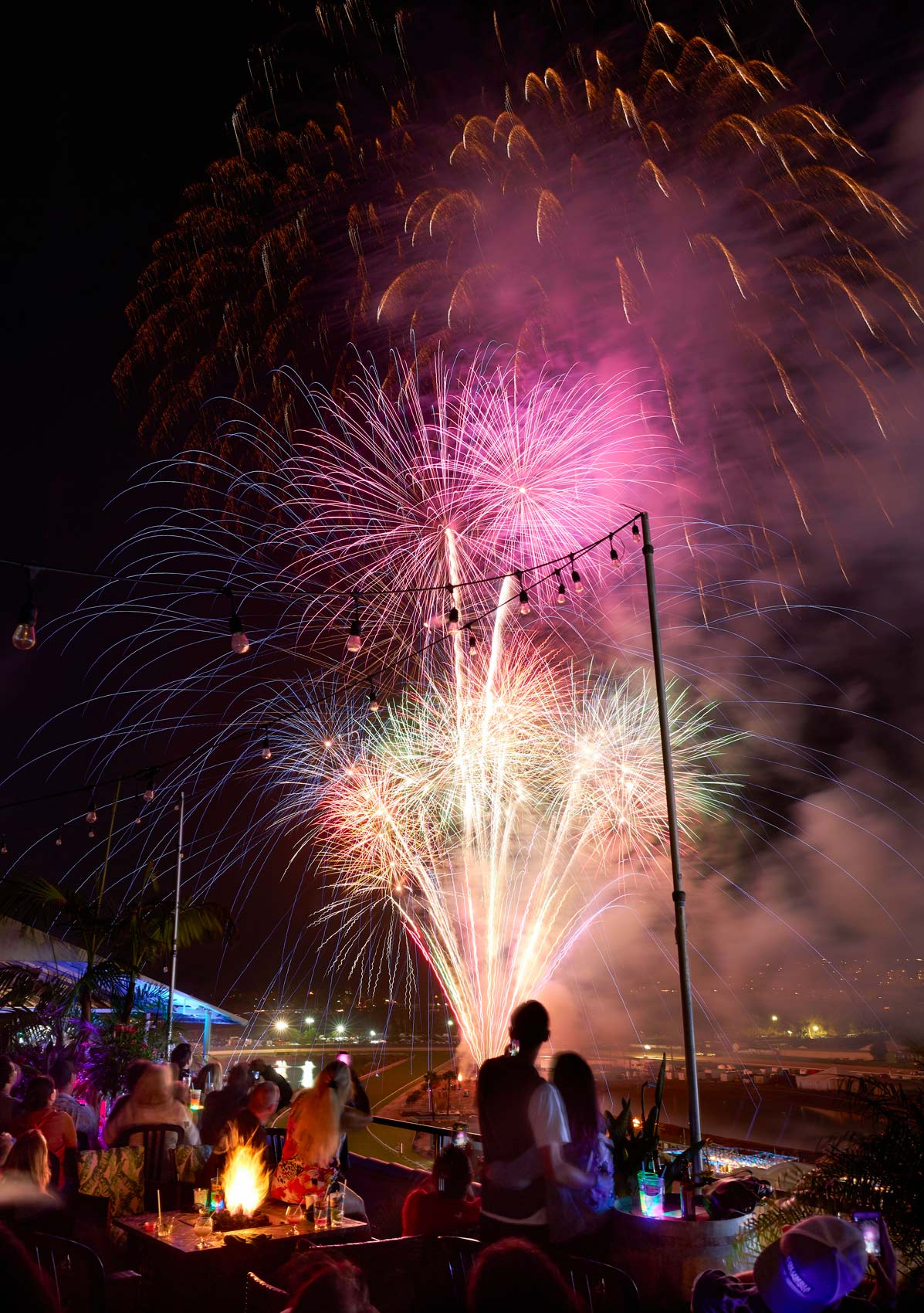 Fireworks at the San Diego County Fair