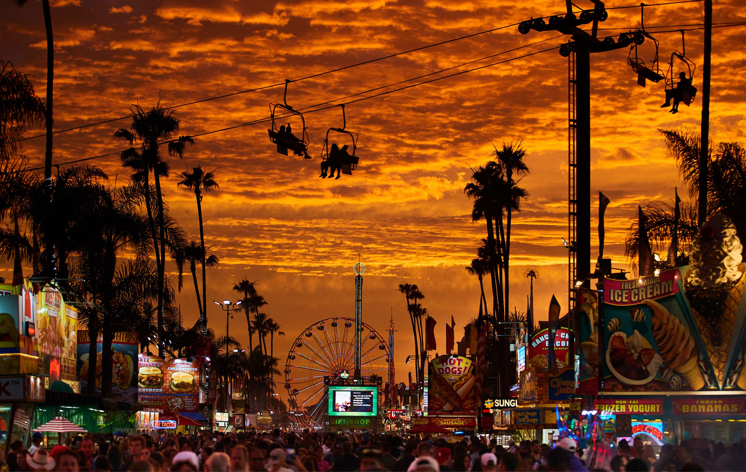San Diego County Fair Sunset