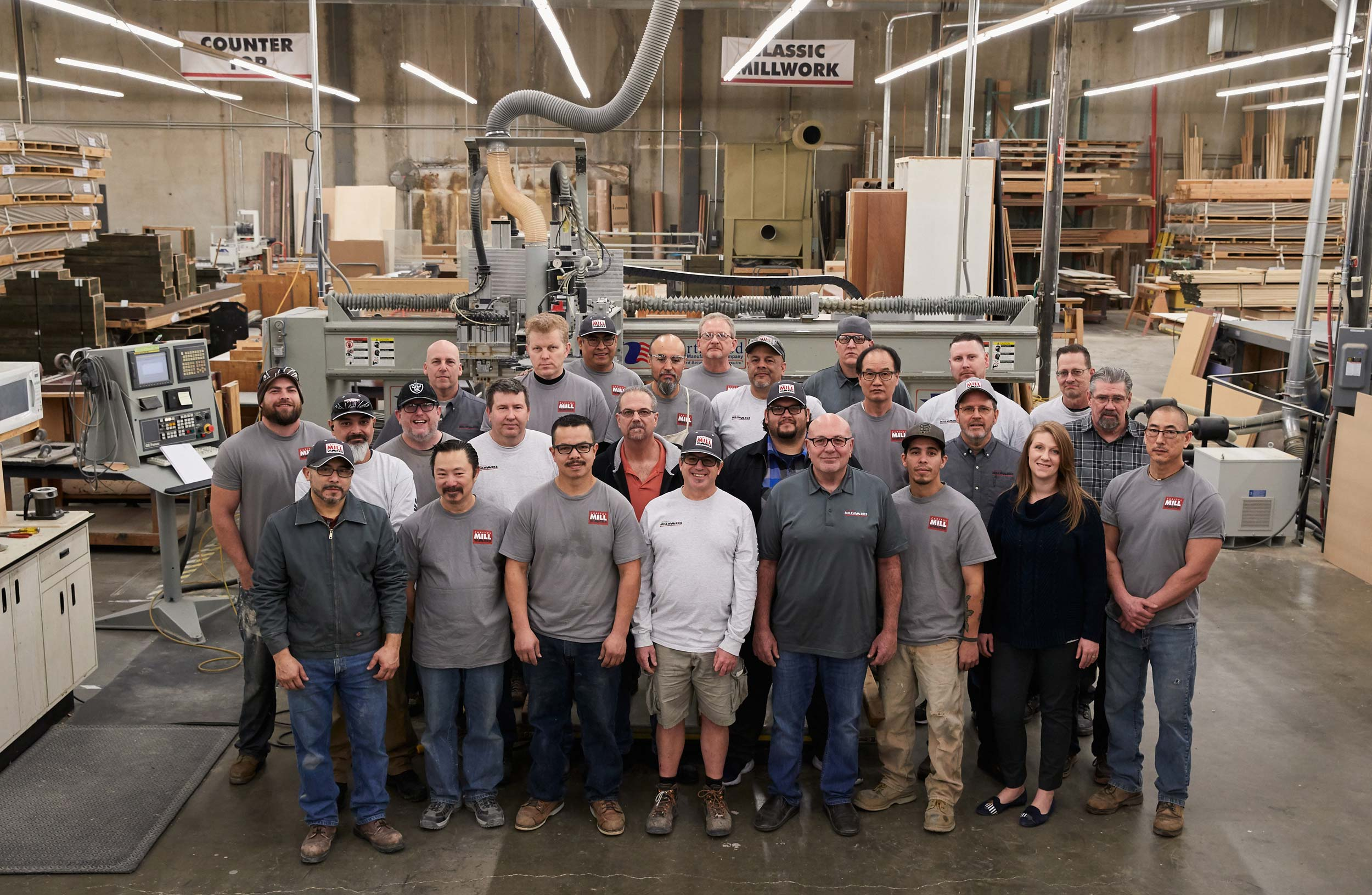 Capitol Mill Works Team Photo