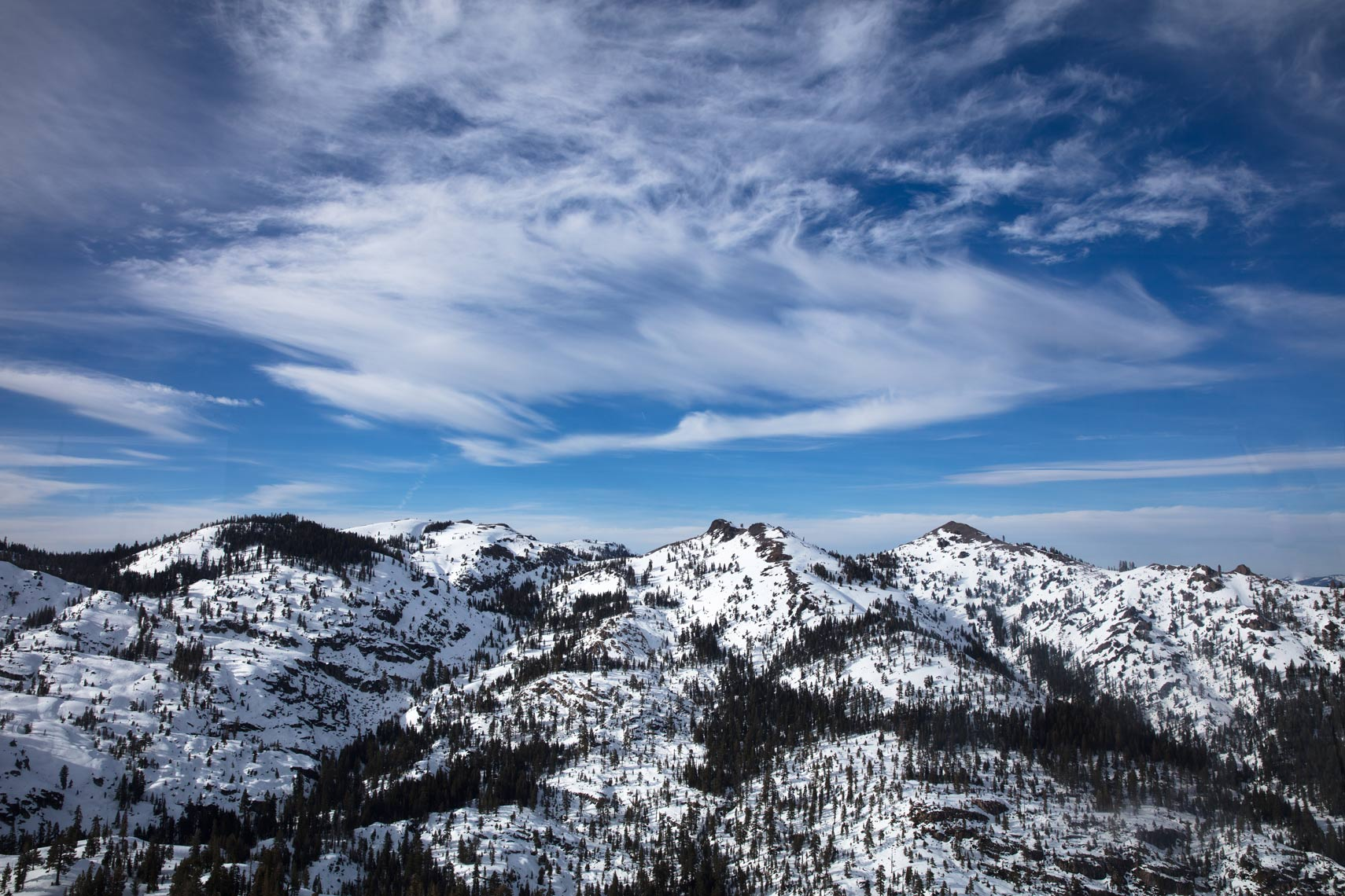 Mountains at Squaw Valley Ski Resort