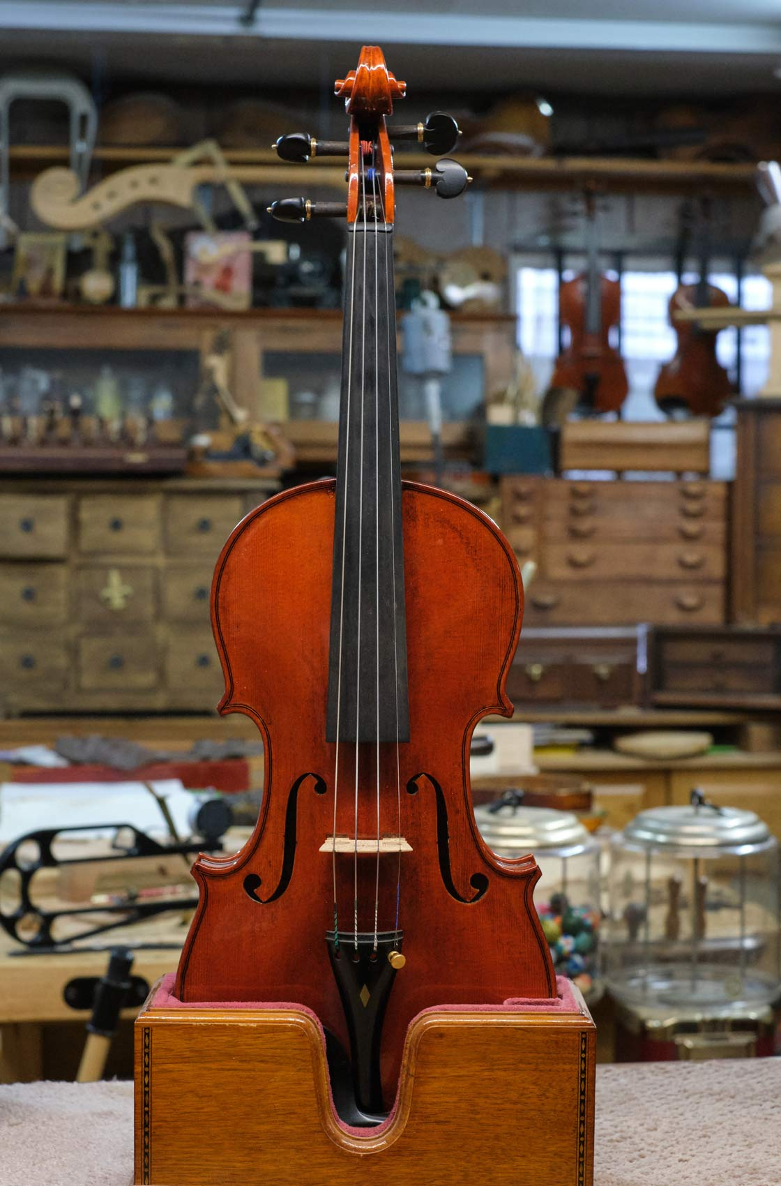 Custom Violin Built by Cheryl Macomber